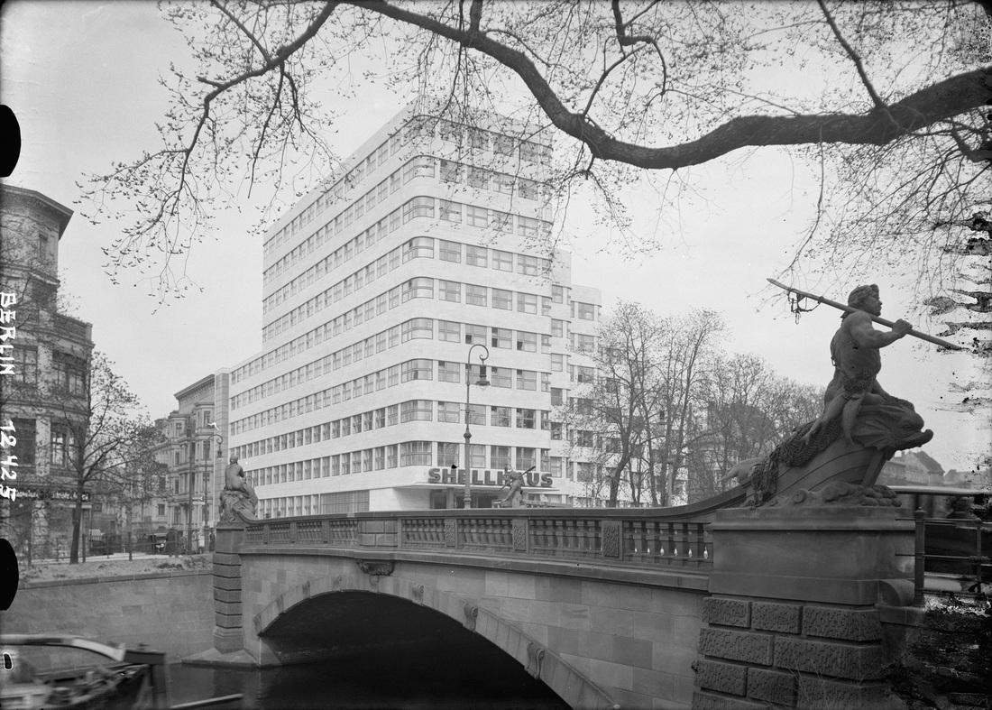 De berlin shell house architect emil fahrenkamp 1932